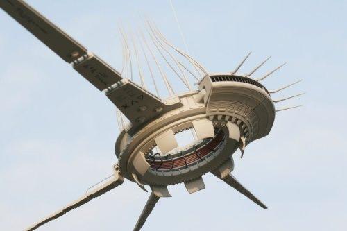 备受争议的caret外星飞行器设计图与麦田圈的视觉比较