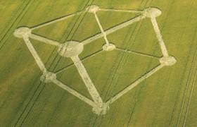 2012年7月1日第三个麦田怪圈在英国汉普郡