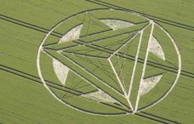 2012年7月1日在英国第四个麦田怪圈报告
