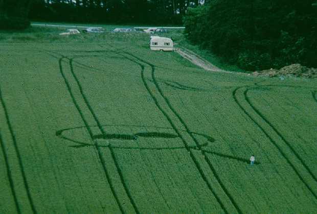 1991年7月11日麦田怪圈图片