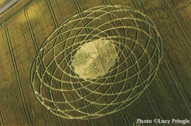 1997年7月11日麦田怪圈图片