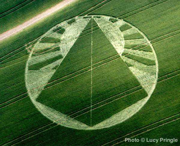 麦田怪圈地毯-中国设计-超神秘!
