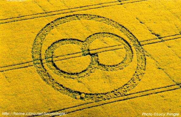 2003年4月20日麦田怪圈图片