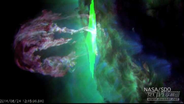 美宇航局拍摄震撼图像
