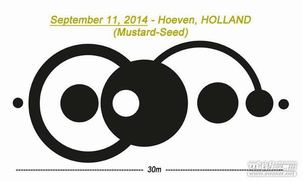 2014年9月11日荷兰芥菜田圈